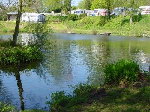 Caravan pitches at the Lake Edge