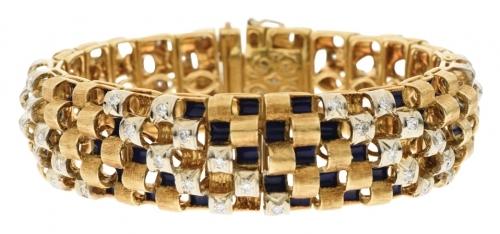c1989 Diamond Bracelet by Toliro of Italy (02 03 084)