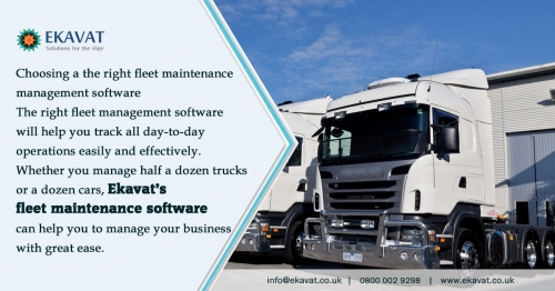 Fleet Management Software for Vehicle Workshops
