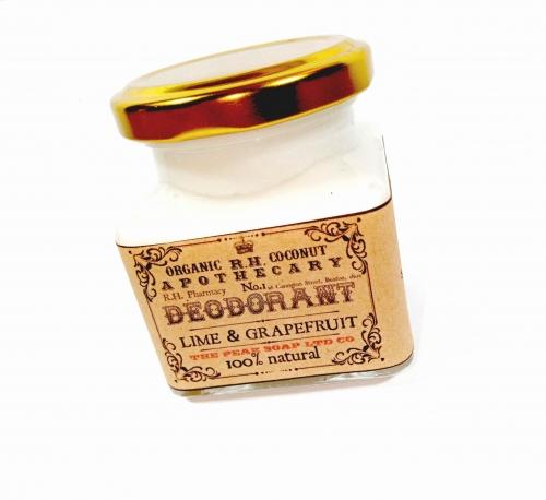 Natural Deodorant - Lime And Grapefruit