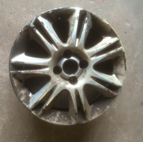 WheelRight - Corsa Wheel Before