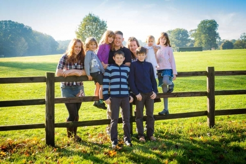 Family Portrait - Cacchioli Photography