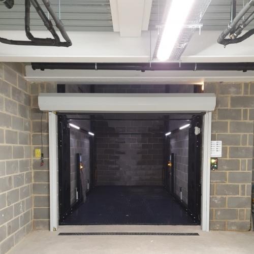 New build underground car lift