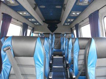 Inside our 16 Seat executive mini coach