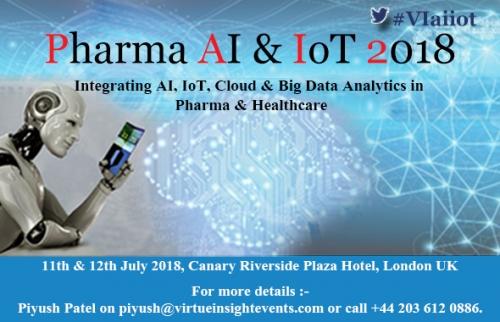 Pharma AI & IoT 2018