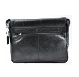 Second Tread Footwear Mens Black Laptop Bag