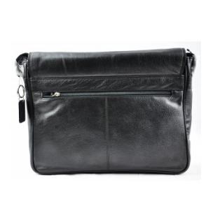 Second Tread Footwear Mens Black Laptop Bag