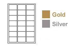 Gold Labels & Silver Labels