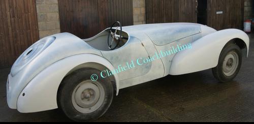 1946 Allard J1 competition car rebuilt to original spec as designed by Godfrey Imhoff