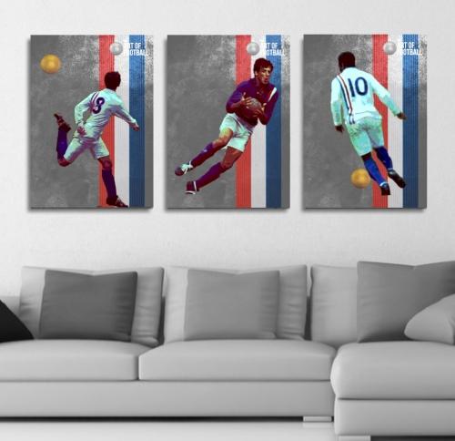 Football Art Canvas Prints