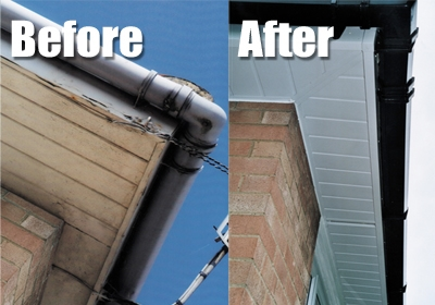 uPVC Fascia Replacement Installations