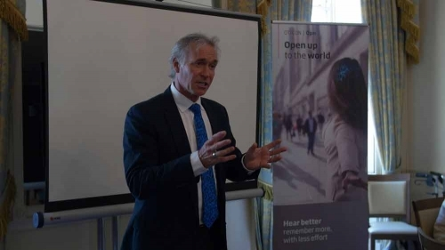 Dr Hilary Jones Hidden Hearing Event