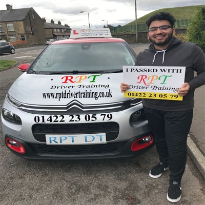 RPT Driver Training - Driving Lessons Halifax- Ahsan Junaid