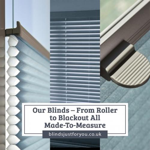Wide range of window blinds