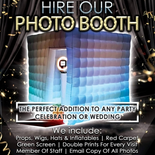 Hire our photo booth for your event