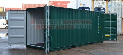 20ft Tunnel Containers (doors at each end)