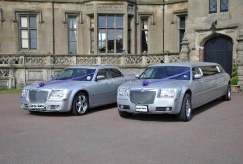 Style Wedding Cars Limo Wedding Car 2 Chryslers