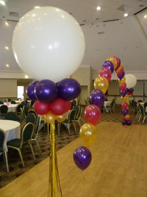 High School Prom Balloons!