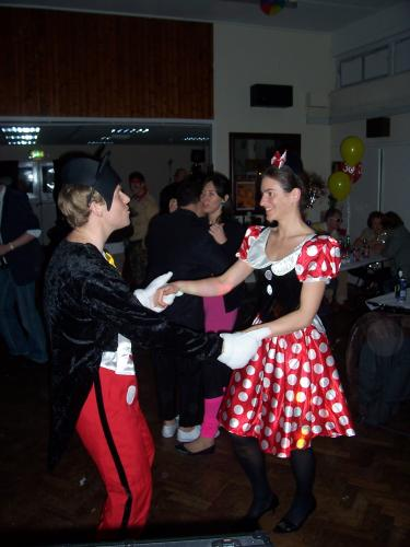 Fancy-dress birthday disco