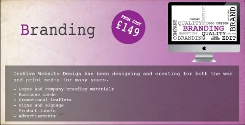 Company Branding from just £149