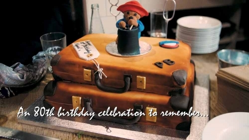 80th Birthday Cake Paddington Bear