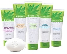 Herbalife Aloe Range for Body and hair.