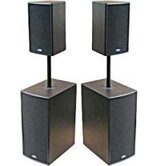 Small portable sound systems