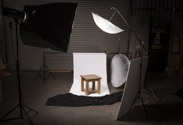 Furniture Lighting Set Up