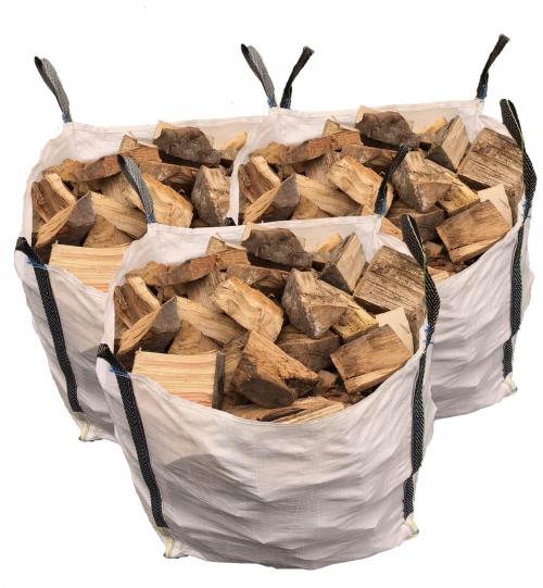 1 Van Of Seasoned Hardwood Logs