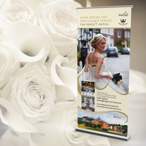 Kings Chapel, Amersham: Banner Design, Artwork & Print/Supply