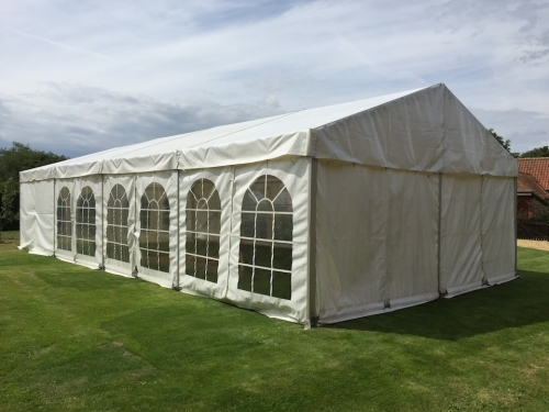 6m x 12m Anniversary marquee set up
