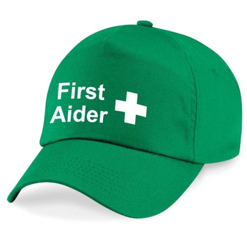 First Aider with Cross ID Cap