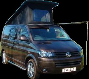 Camper Van for Hire - Rex