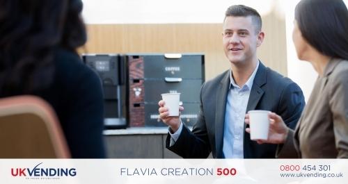 Flavia Creation 500 Coffee Machine Office 2