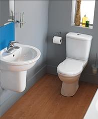 Ideal Cloakroom Suite