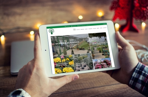 New Website Design| Woolpit Nurseries between Stowmarket and Bury St Edmunds, Suffolk
