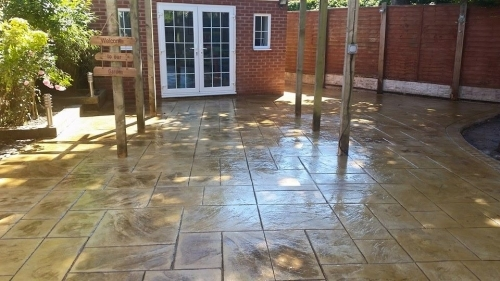 Patio installed in Penketh Warrington