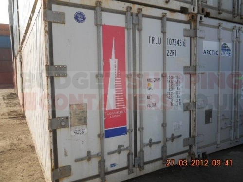 20ft Refrigerated Shipping Containers