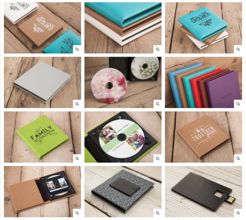 Loxley Colour USB/CD Portfolio
