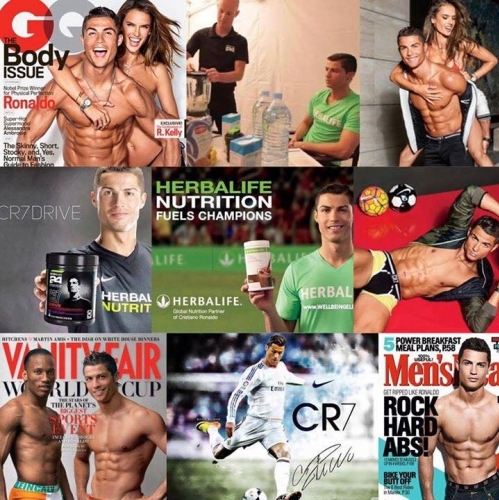 Christiano Bodycollage