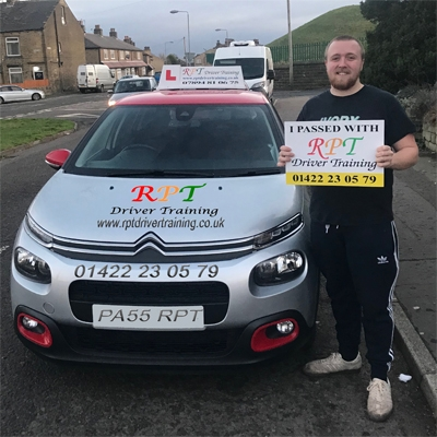RPT Driver Training Driving Lessons Halifax Brendan Smith